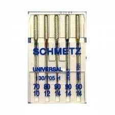 Иглы Schmetz Сombi mini универсальные №70-90
