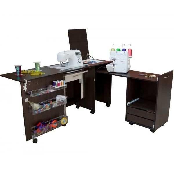 Стол для швейной машины и оверлока Комфорт 3 - Швейкин