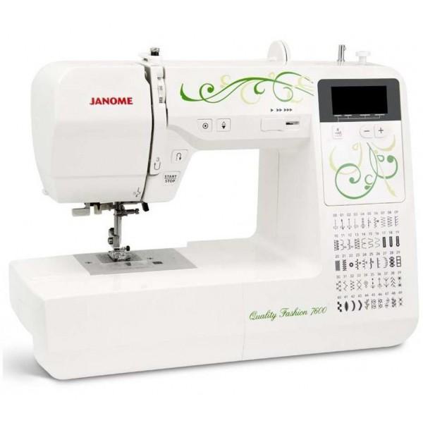 Janome Quality Fashion 7600 - Швейкин