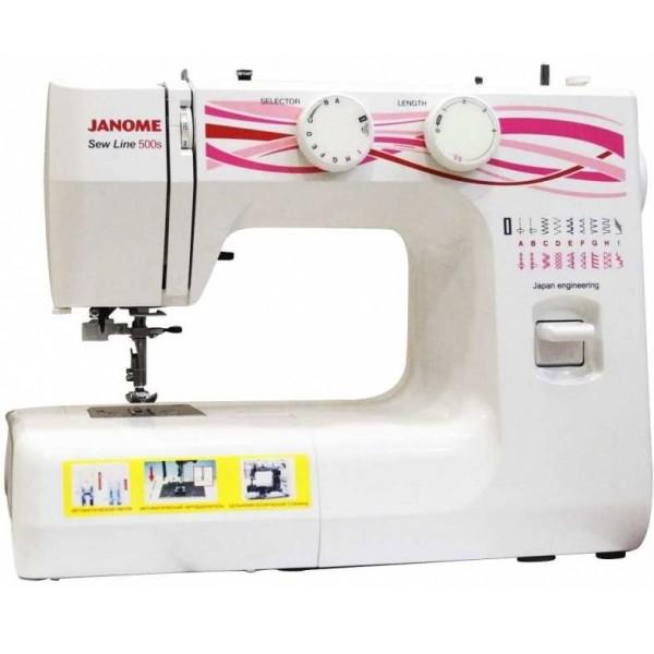 Janome Sew Line 500s - Швейкин