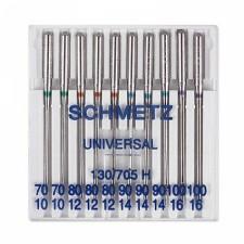 Иглы Schmetz универсальные №70-100, 10 шт