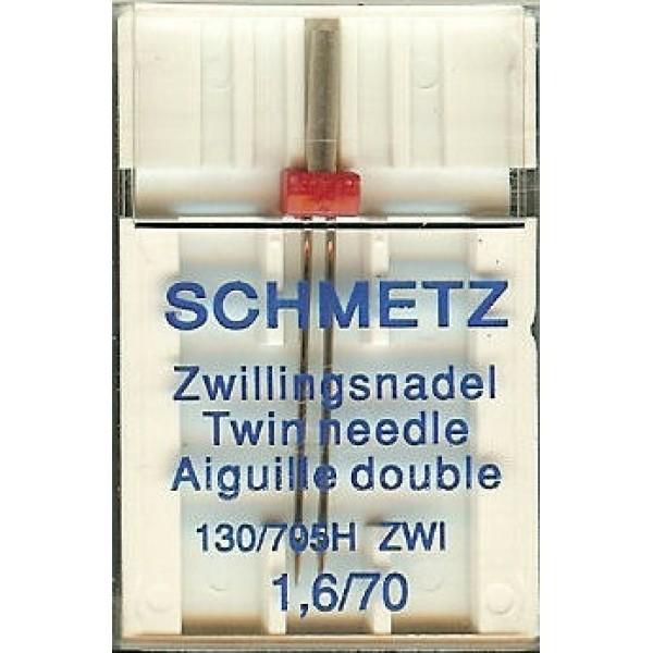 Двойная игла Schmetz Twin Universal №70/1,6 - Швейкин