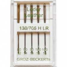 """Иглы Groz-Beckert """"Leder"""" №80-100"""