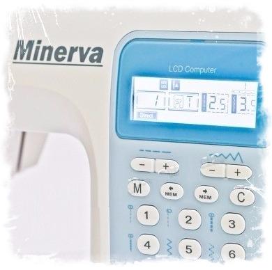 Серия компьютерных швейных машин MC от бренда Minerva