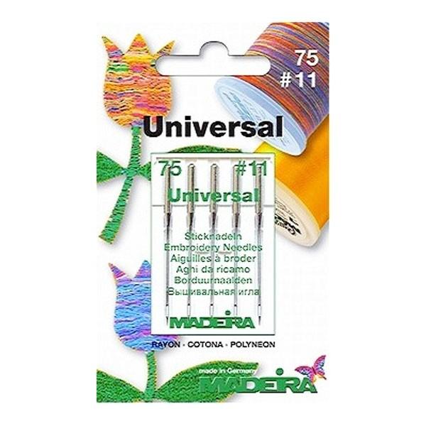 Иглы Madera универсальные вышивальные №75 - Швейкин