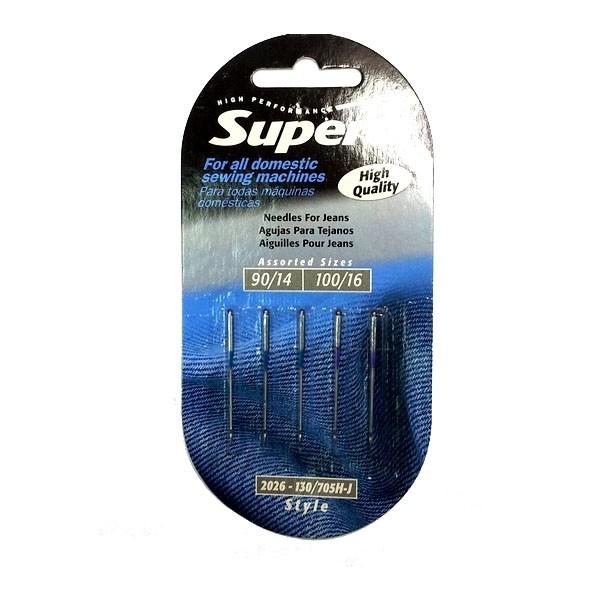 Иглы для джинса Supera №90-100 - Швейкин