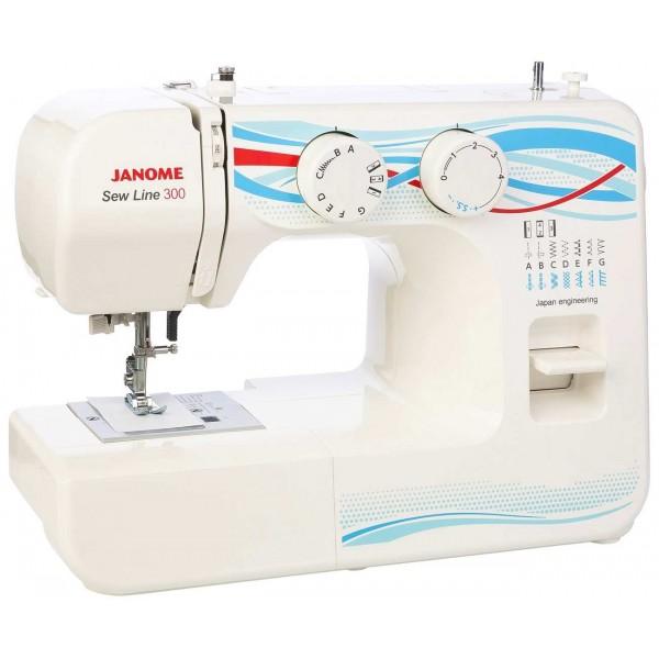 Janome Sew Line 300 - Швейкин