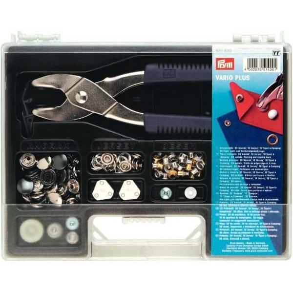 Набір кнопок з щипцями Prym Vario Plus 651420 - Швейкин