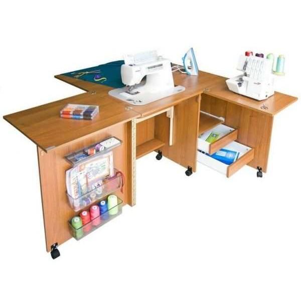 Стол для швейной машины и оверлока Комфорт-4 - Швейкин