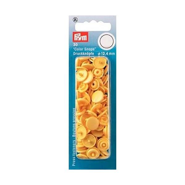 "Кнопки желтые ""Color Snaps"" 12,4 мм Prym 393112 - Швейкин"