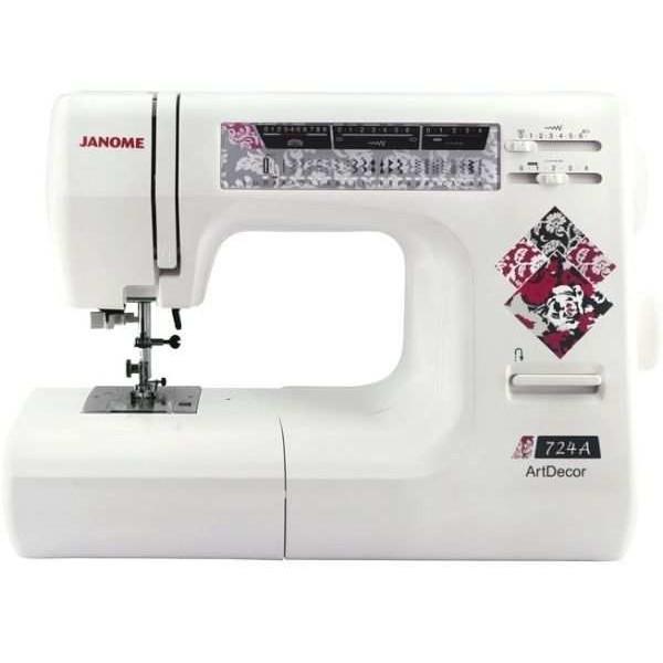 Швейная машина Janome Artdecor 724A - Швейкин