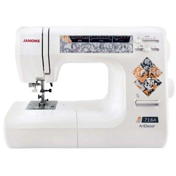 Швейная машина Janome Artdecor 718A - Швейкин