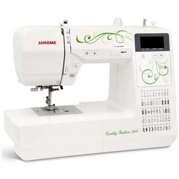 Janome Quality Fashion 7600 - Швейкин