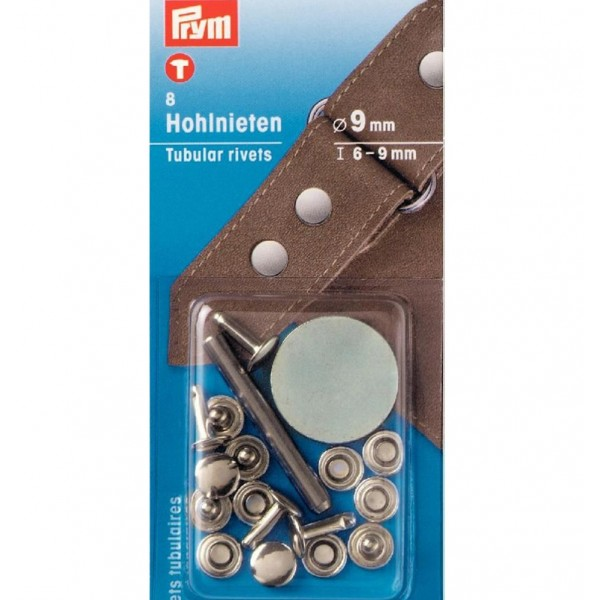 Клепки серебристые 6-9мм Prym 403152 - Швейкин