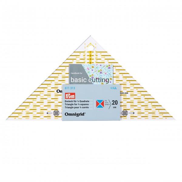 Трикутник 1/4 для печворку Prym 611313 - Швейкин