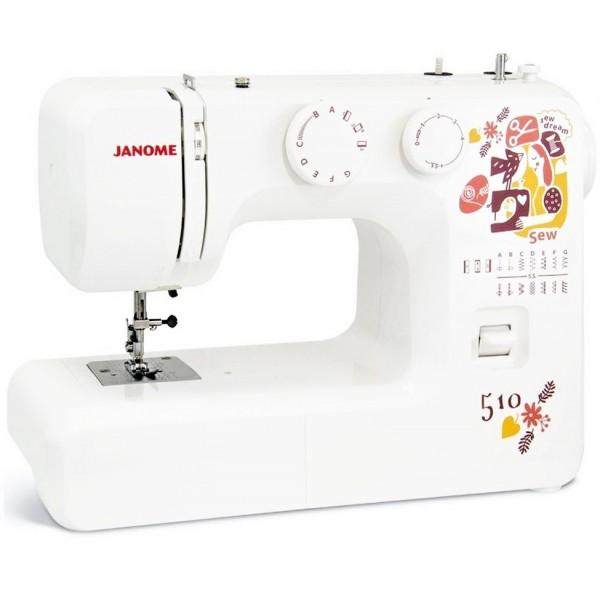 Janome Sew Dream 510 - Швейкин
