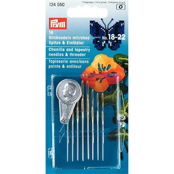 Ручные иглы для вышивания Prym 124550 - Швейкин
