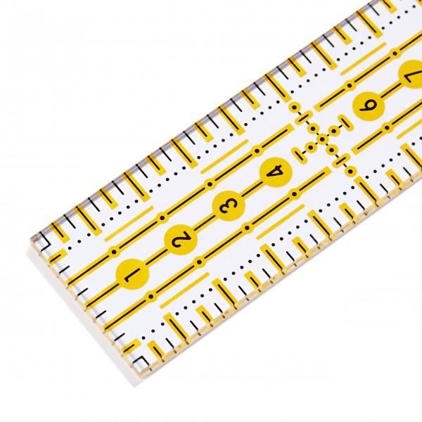 Линейка для пэчворка 3*30 см Prym 611650 - Швейкин