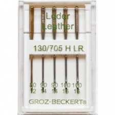 """Голки Groz-Beckert """"Leder"""" №80-100"""
